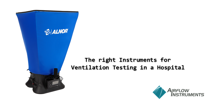 TSI Ventilation Testing in a Hospital